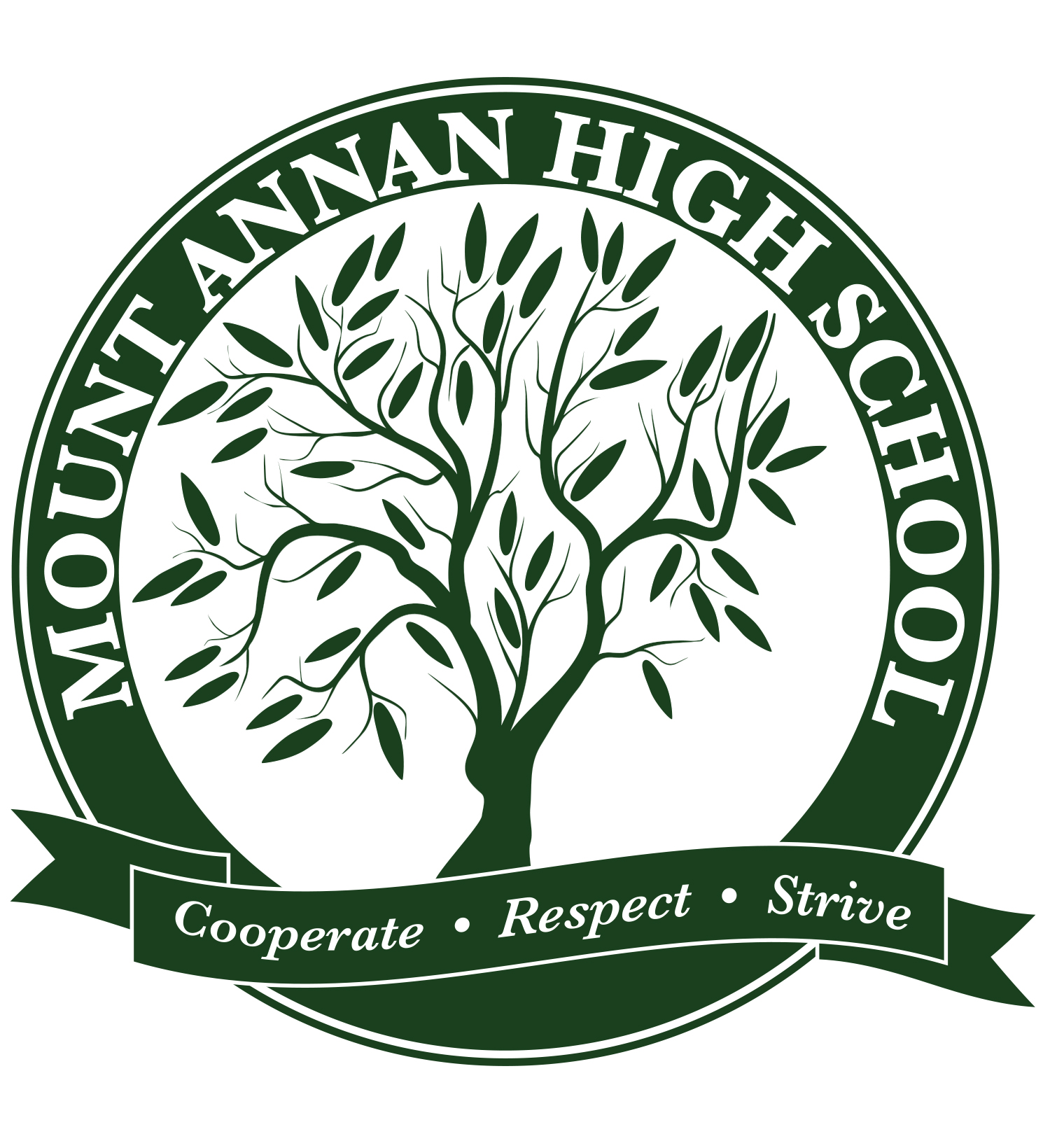 Mount Annan High School logo